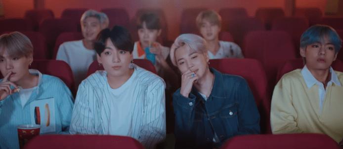 BTS 'Lights' Official MV текст перевод