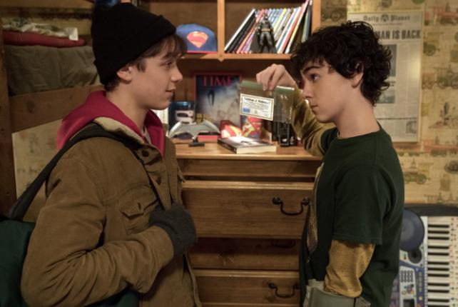 Фильм, где мальчик заступился за друга и получил силу