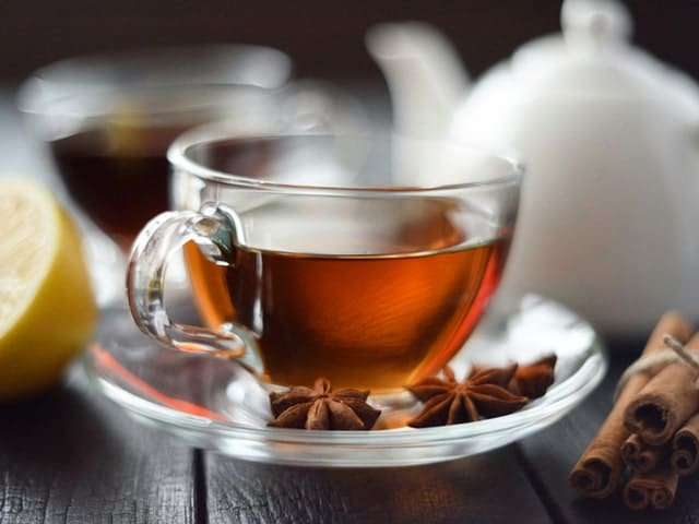 Чай из звёздчатого аниса (бадьяна)