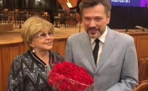 Ангелина Вовк и Михаил Куницын