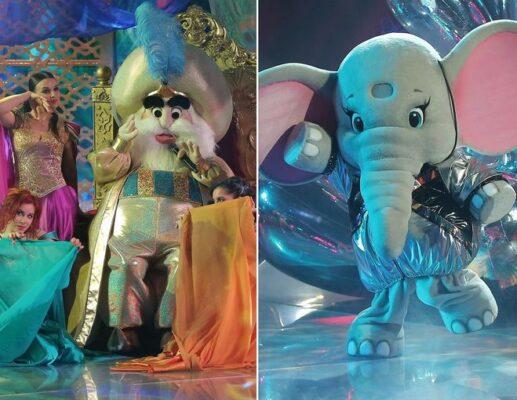 Кто скрывается под маской Слоника и Султана в шоу Маска (18 апреля)?